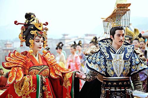 Cảnh đăng cơ Hoàng Hậu hoành tráng của Võ Mỵ Nương - 6