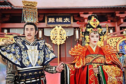 Cảnh đăng cơ Hoàng Hậu hoành tráng của Võ Mỵ Nương - 5