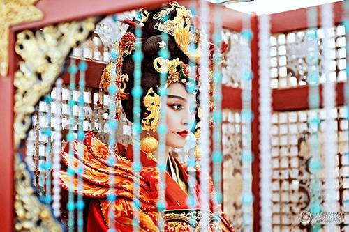 Cảnh đăng cơ Hoàng Hậu hoành tráng của Võ Mỵ Nương - 10