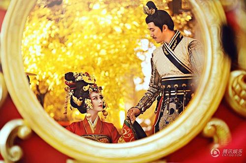 Cảnh đăng cơ Hoàng Hậu hoành tráng của Võ Mỵ Nương - 13