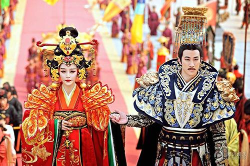 Cảnh đăng cơ Hoàng Hậu hoành tráng của Võ Mỵ Nương - 12