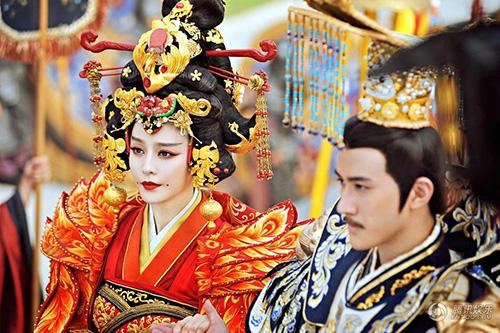 Cảnh đăng cơ Hoàng Hậu hoành tráng của Võ Mỵ Nương - 9
