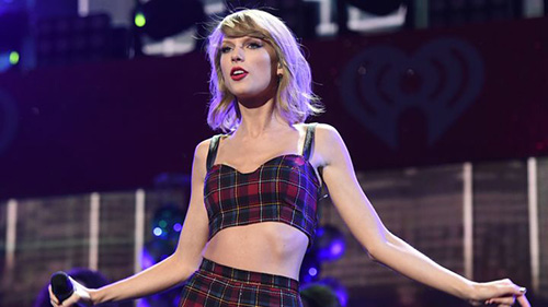 """Talor Swift đăng ký thương hiệu lời ca khúc album """"1989"""""""