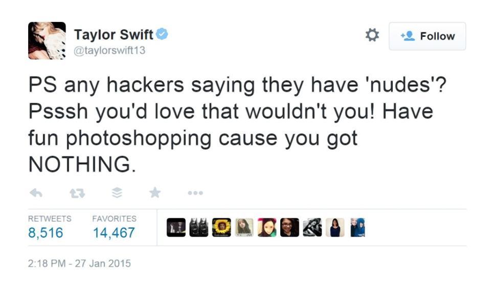 """Talor Swift đăng ký thương hiệu lời ca khúc album """"1989"""" - 5"""