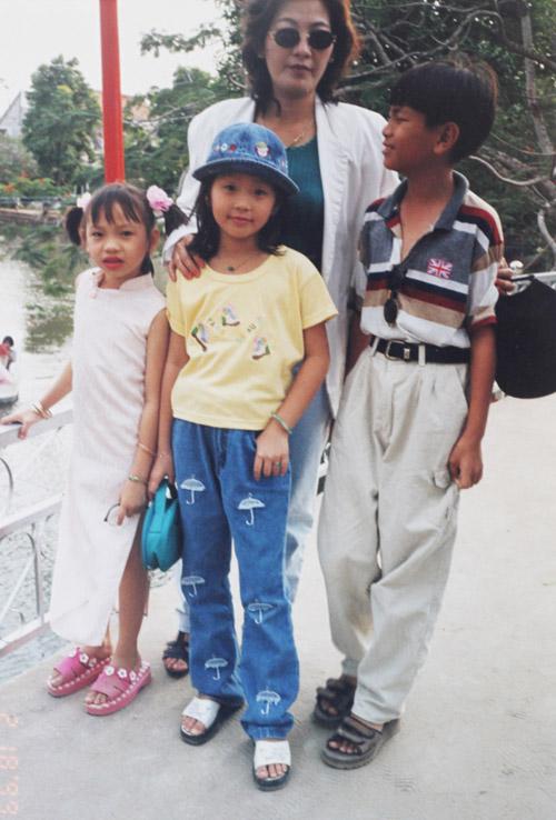 """Lộ ảnh """"xinh từ bé"""" của á hậu Diễm Trang - 5"""
