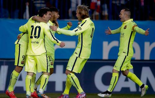 Barca toàn thắng trước Atletico: Thời thế đã khác - 2