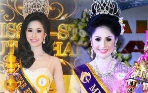 Bất ngờ với vẻ đẹp của 2 tân hoa hậu chuyển giới Thái