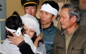 Thượng úy công an hứa tặng bố áo ấm trước khi hy sinh