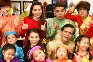 Bố mẹ Hà Hồ đóng MV cùng con gái
