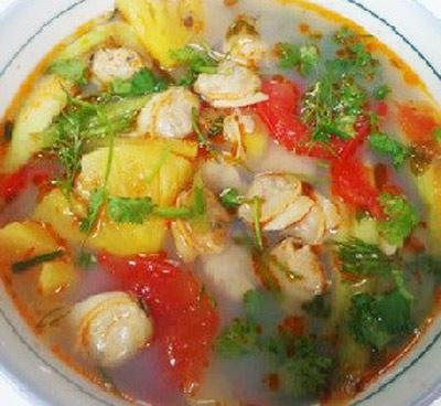 Cách nấu canh chua từ ngao, cá, sườn ngon tuyệt trần - 1