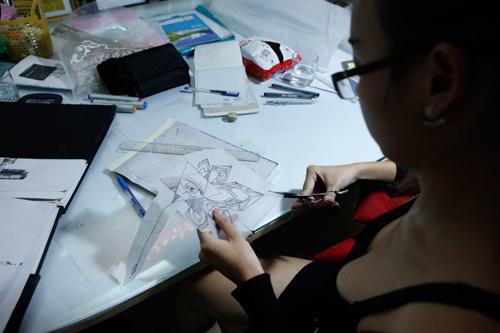 Trắng đêm cùng nữ thợ xăm nghệ thuật Hà thành - 4