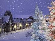 Những thành phố tuyết đẹp tựa miền cổ tích