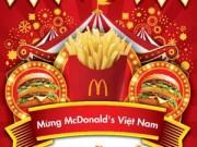 McDonald's tưng bừng tổ chức lễ hội sinh nhật phong cách Carnivala