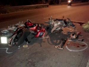 Hai xe mô tô va nhau gây chết người
