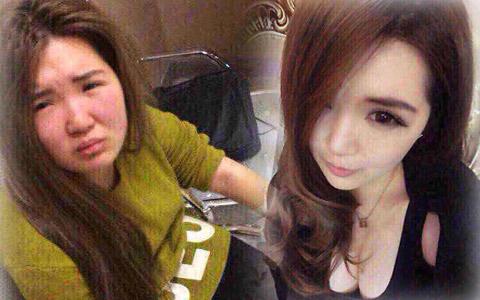 """Cô gái bị đánh vì trang điểm """"lừa tình"""" trên mạng"""
