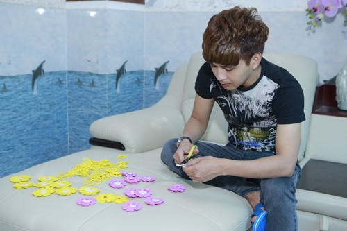 """""""Đột nhập"""" nhà mới của Hồ Quang Hiếu - 5"""