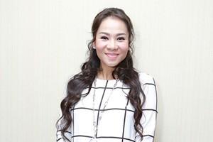 Thu Minh thay đổi ngoại hình khi bầu ở tháng thứ 6