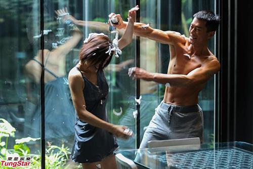 Cổ Thiên Lạc bạo lực cưỡng hôn Xa Thi Mạn - 9