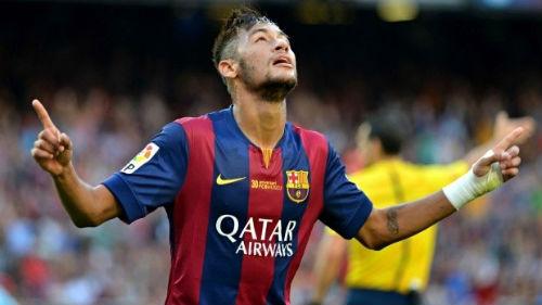 Neymar: Người hùng mới trên hàng công Barca - 1