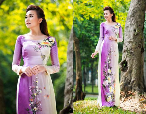 Mỹ nhân Việt nô nức mặc áo dài chào Xuân Ất Mùi - 2