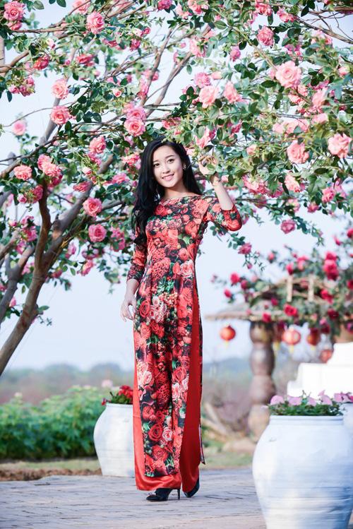 Mỹ nhân Việt nô nức mặc áo dài chào Xuân Ất Mùi - 4