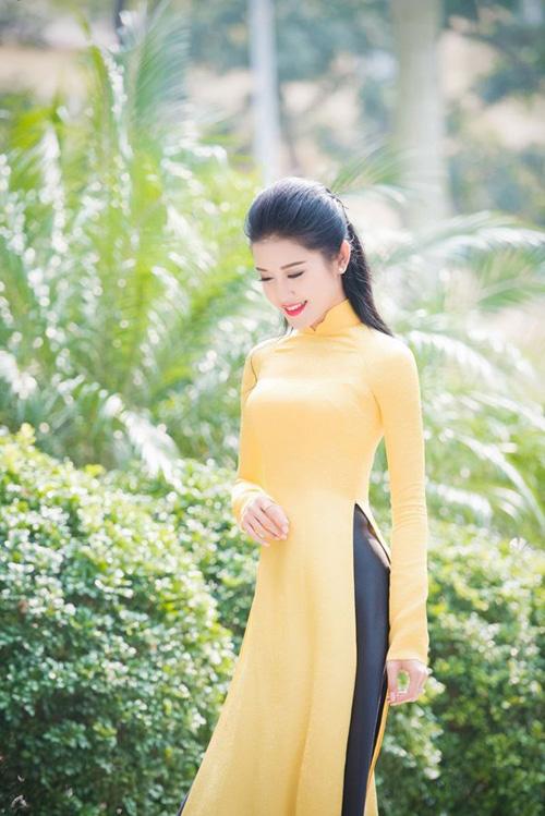 Mỹ nhân Việt nô nức mặc áo dài chào Xuân Ất Mùi - 5