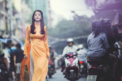 Mỹ nhân Việt nô nức mặc áo dài chào Xuân Ất Mùi - 8