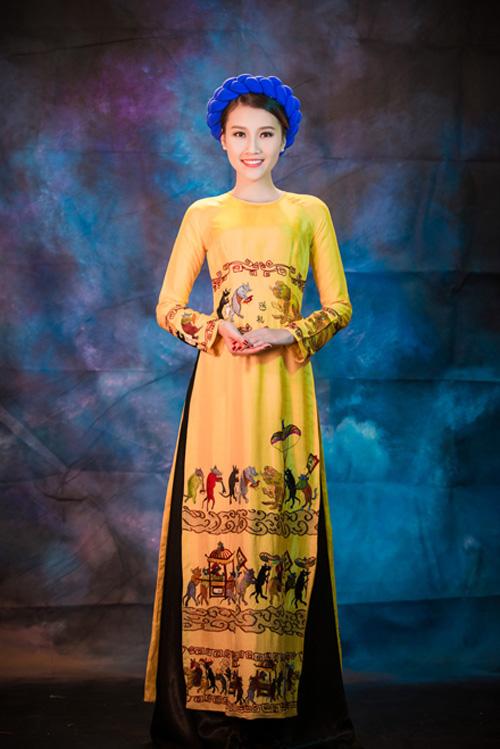 Mỹ nhân Việt nô nức mặc áo dài chào Xuân Ất Mùi - 12