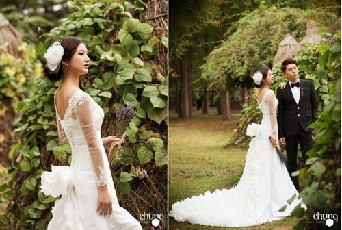 Top 10 sao nữ Kpop mặc váy cưới đẹp nhất - 5