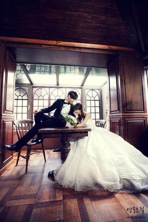 Top 10 sao nữ Kpop mặc váy cưới đẹp nhất - 2