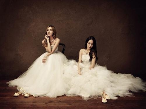 Top 10 sao nữ Kpop mặc váy cưới đẹp nhất - 7