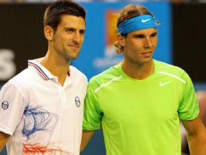 Phía trước Djokovic là Nadal