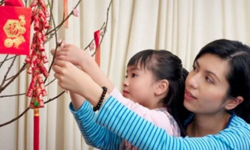 Công việc giúp các bà mẹ kiếm tiền ngày Tết - 2