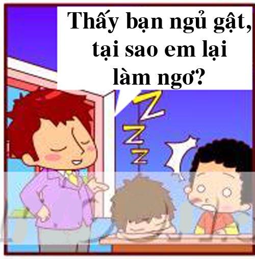Truyện tranh: Lý do không nên ngủ trong lớp - 5