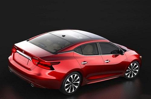 Nissan tung ảnh xe Nissan Maxima 2016 - 2