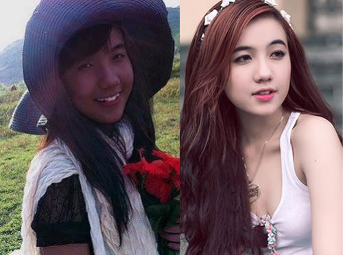 Hot girl Việt thay đổi thế nào khi thiếu vắng son phấn? - 1