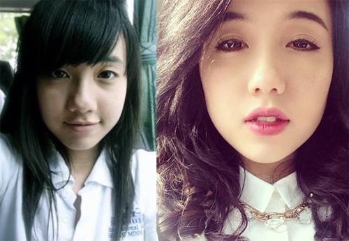 Hot girl Việt thay đổi thế nào khi thiếu vắng son phấn? - 2