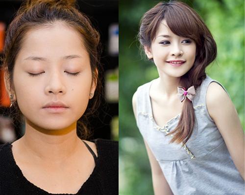 Hot girl Việt thay đổi thế nào khi thiếu vắng son phấn? - 3
