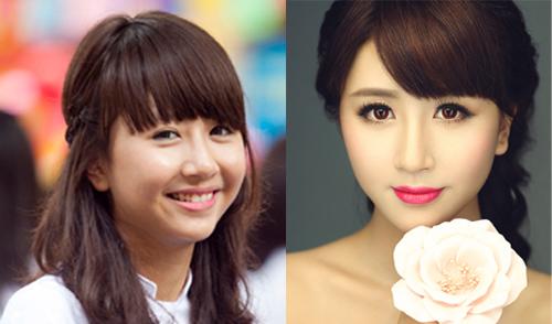 Hot girl Việt thay đổi thế nào khi thiếu vắng son phấn? - 6