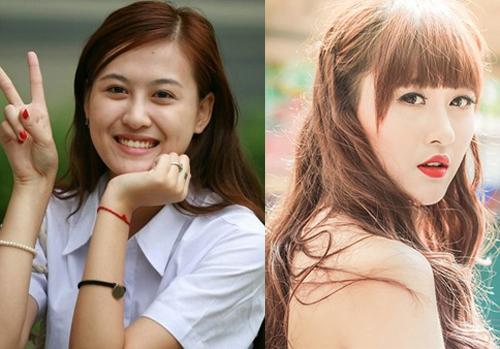 Hot girl Việt thay đổi thế nào khi thiếu vắng son phấn? - 7