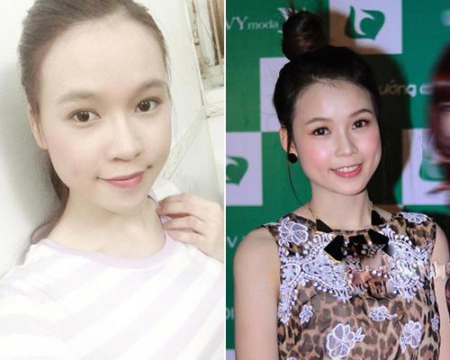 Hot girl Việt thay đổi thế nào khi thiếu vắng son phấn? - 11