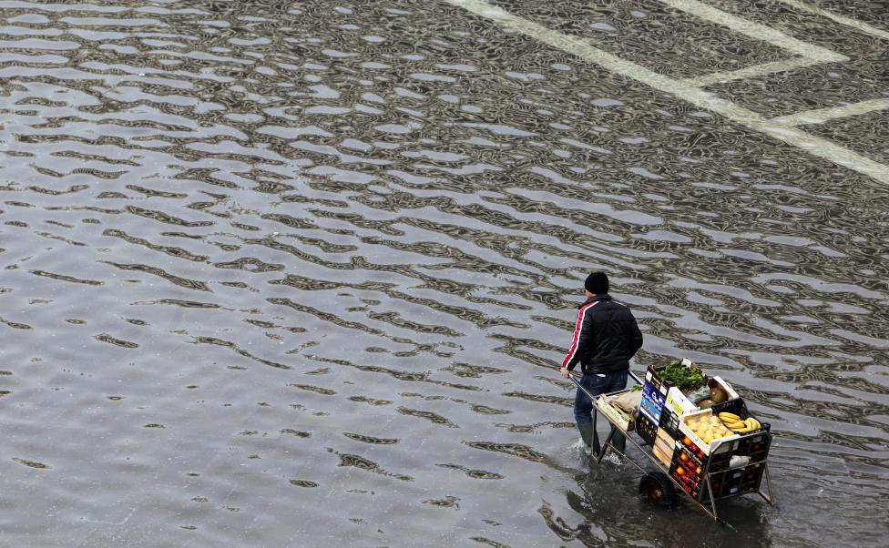 """Chùm ảnh: """"Thành phố tình yêu"""" Venice mùa nước nổi - 11"""