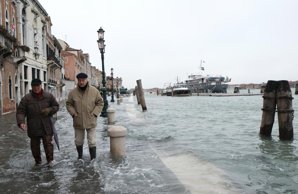 """Chùm ảnh: """"Thành phố tình yêu"""" Venice mùa nước nổi - 10"""