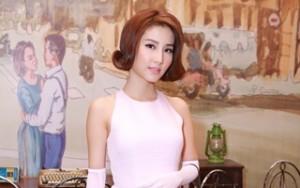 Diễm My 9X kiêu kỳ trong tiệc cưới Ngân Khánh