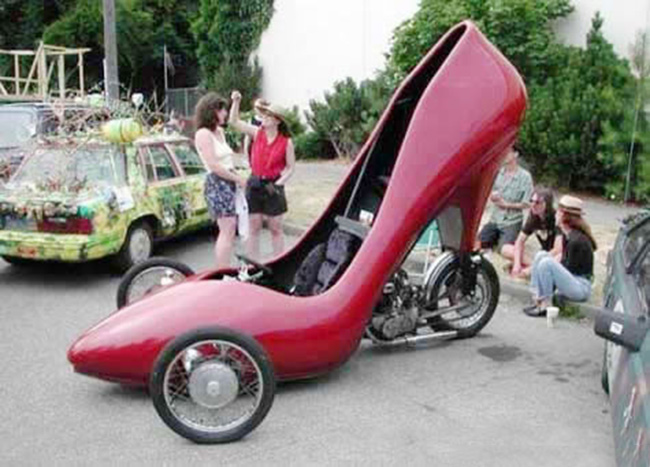 Chắc hẳn các chị em sẽ thích với chiếc xe này