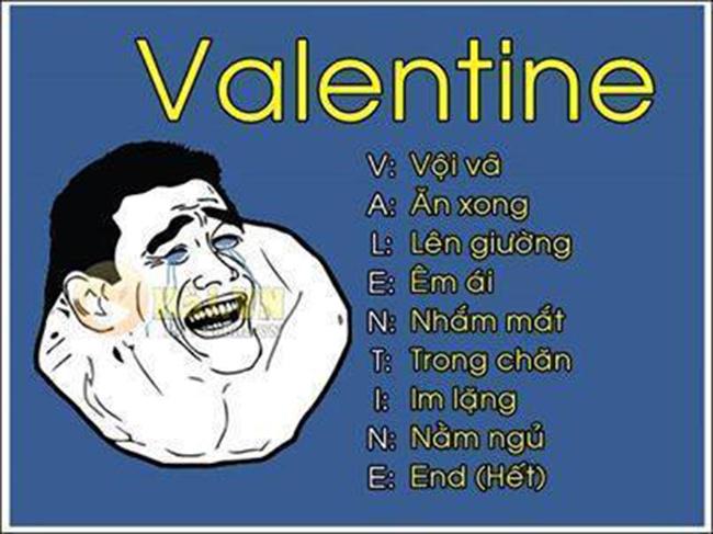 Hội FA chế ảnh hài hước ngày Valentine - 9