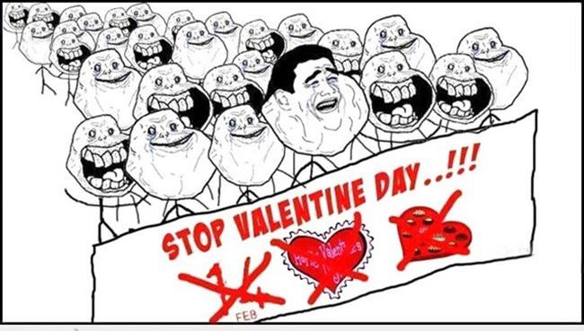 Hội FA chế ảnh hài hước ngày Valentine - 6