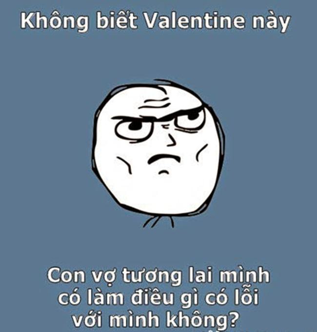 Ảnh chế Valentine hài hước dành cho dân FA - 4