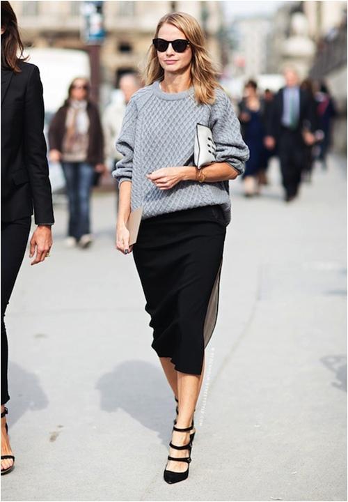 Áo len và 5 cách mặc không bao giờ lỗi mốt - 3