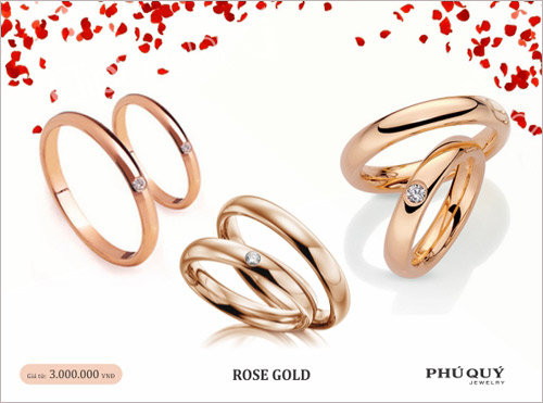 Vàng hồng – xu hướng trang sức mùa Valentine - 3